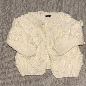 NEW (without tags) Vici Dolls cream cardigan. Sm